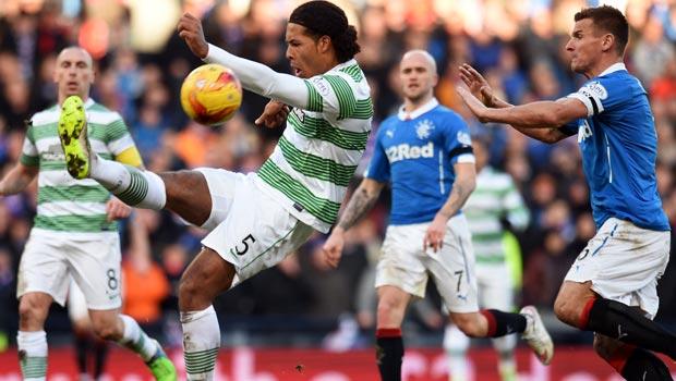 Virgil Van Dijk Celtic v QPR
