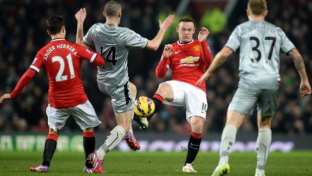 Wayne Rooney Manchester United v Burnley