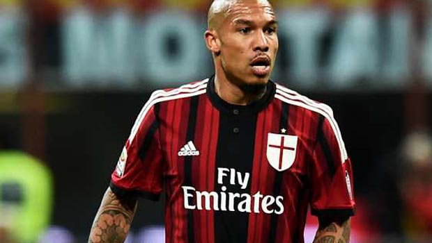 AC Milan midfielder Nigel De Jong