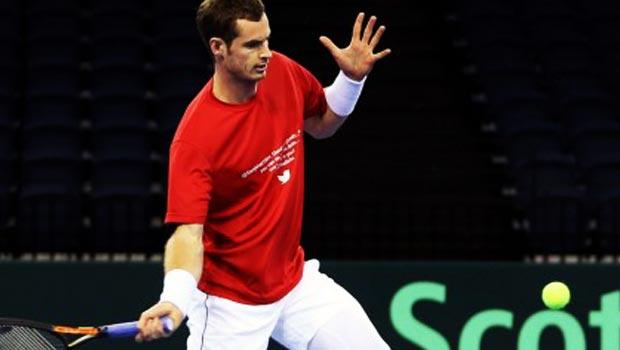 Andy Murray Davis Cup 2015