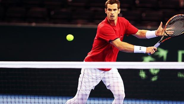 Andy Murray Davis Cup Tennis