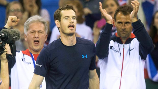 Andy Murray Great Britain Davis Cup victory
