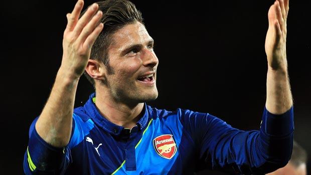 Arsenal Olivier Giroud FA Cup