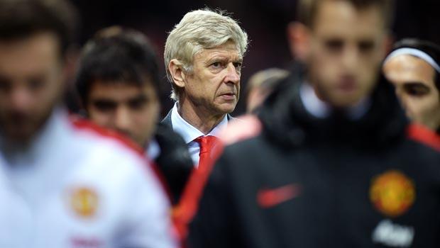Arsene Wenger Arsenal v Manchester United FA Cup