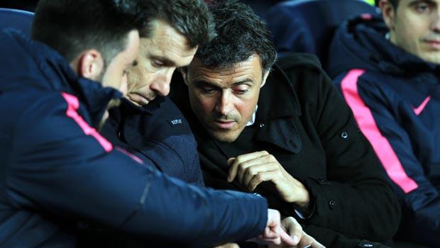 Barcelona boss Luis Enrique Champions League