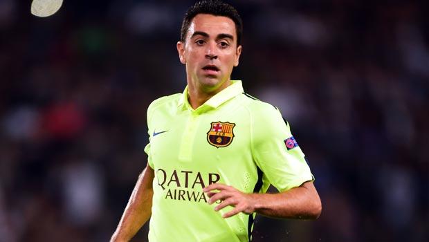 Barcelona captain Xavi