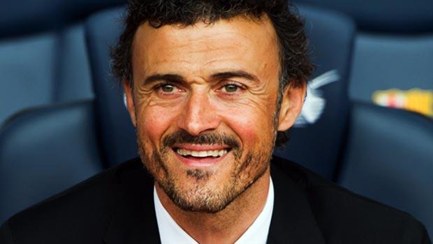 Barcelona coach Luis Enrique La Liga