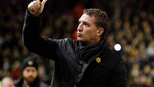 Brendan Rodgers Liverpool v Burnley
