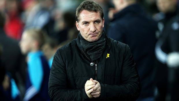 Brendan Rodgers Liverpool v Swansea