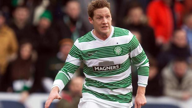 Celtic midfielder Kris Commons