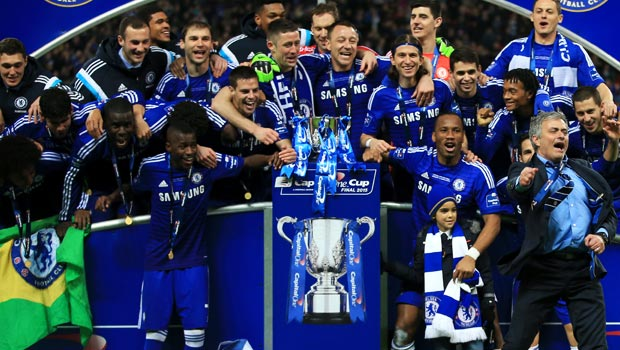 Chelsea Capital One Cup Final Champion