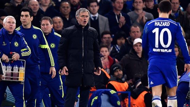 Chelsea manager Jose Mourinho Champions League