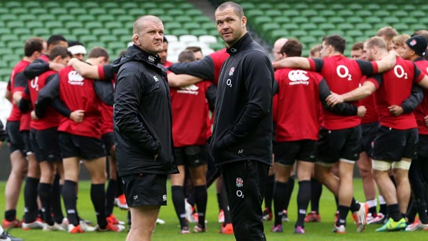 England coaches Graham Rowntree Rugby Union  2015 RBS Six Nations
