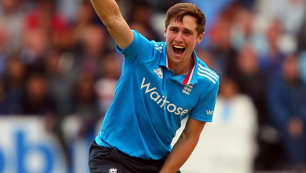 Englands Chris Woakes World Cup Cricket