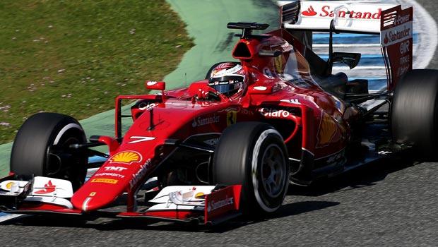 Ferrari Kimi Raikkonen f1