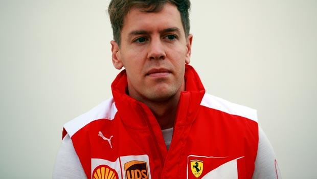Ferrari Sebastian Vettel F1