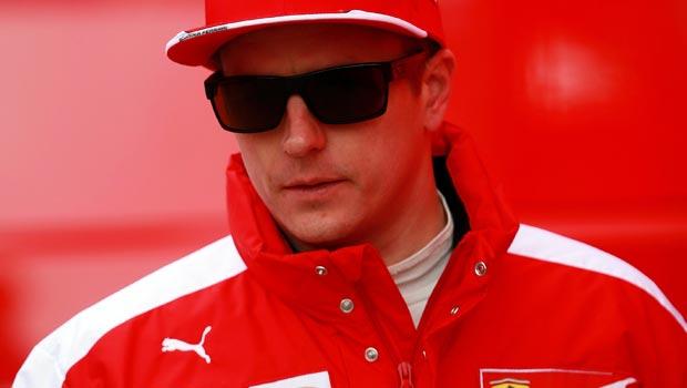 Ferrari driver Kimi Raikkonen Malaysian Grand Prix
