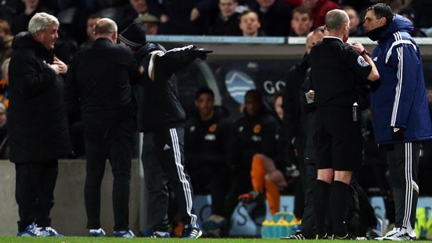 Hull City Steve Bruce and Sunderland Gus Poyet