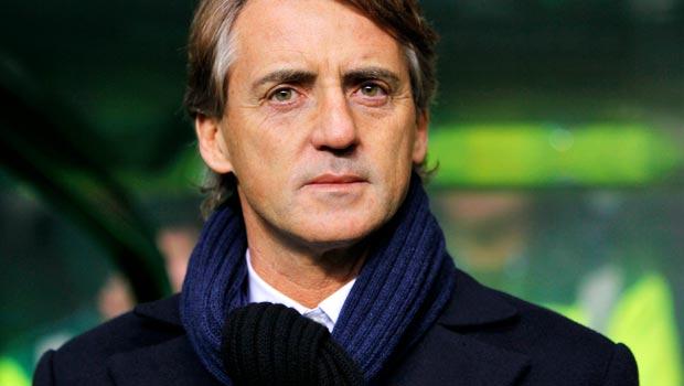 Inter Milan manager Roberto Mancini