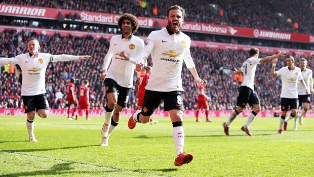 Juan Mata Liverpool 1-2 Man Utd Premier League