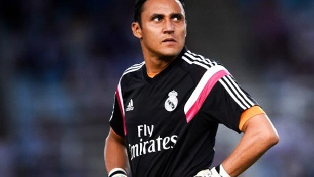 Keylor Navas Real Madrid Goalkeeper