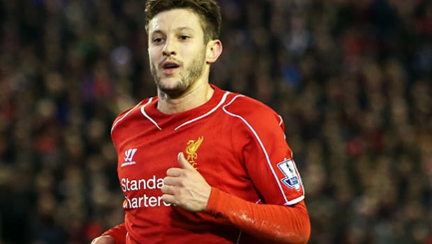Liverpool Adam Lallana