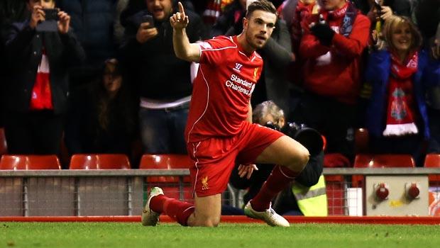 Liverpool Jordan Henderson