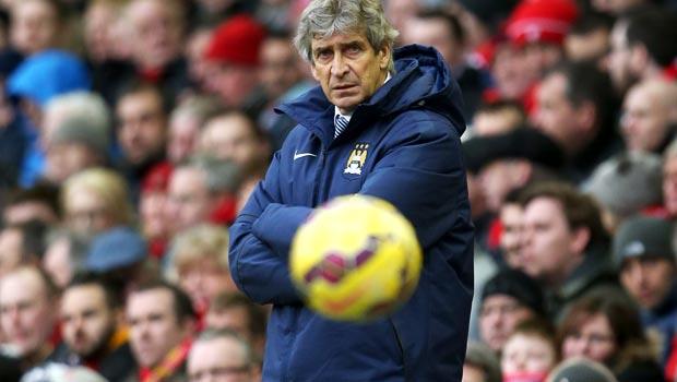 Man City boss Manuel Pellegrini Premier League
