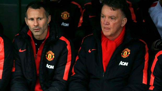 Man United Ryan Giggs and Louis van Gaal