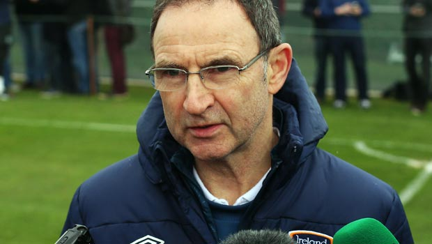 Martin O'Neill Republic of Ireland boss