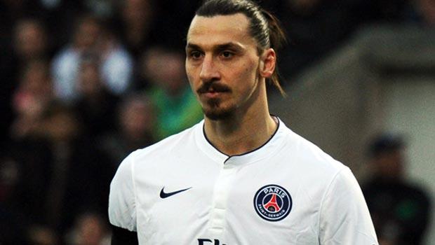 PSG talisman Zlatan Ibrahimovic
