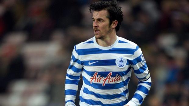 QPR midfielder Joey Barton