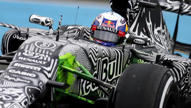 Red Bull driver Daniel Ricciardo