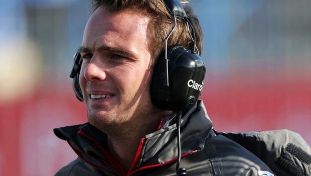 Sauber Giedo Van der Garde F1