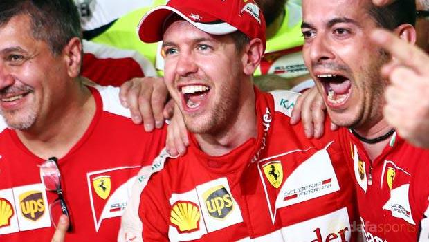 Sebastian Vettel Ferrari Malaysian Grand Prix