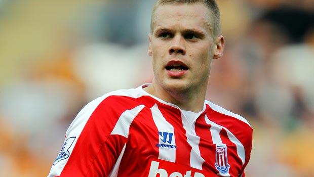 Stoke City captain Ryan Shawcross