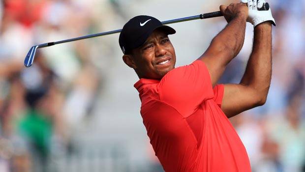 Tiger Woods ahead of Masters at Augusta