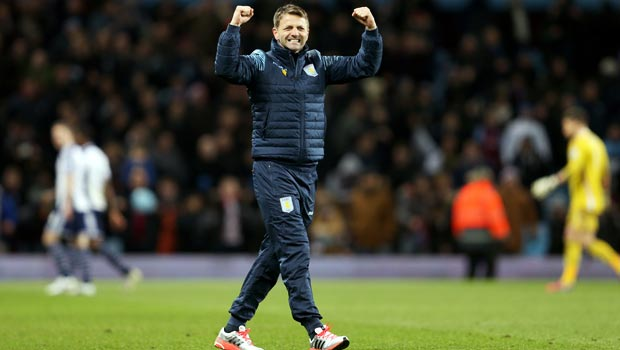 Tim Sherwood Aston Villa v West Bromwich Albion