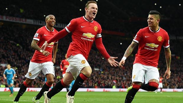 Wayne Rooney Man United v Sunderland