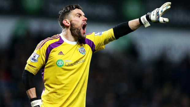 West Bromwich Albion Ben Foster