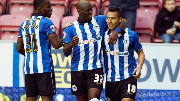 Wigan Athletic Marc-Antoine Fortune