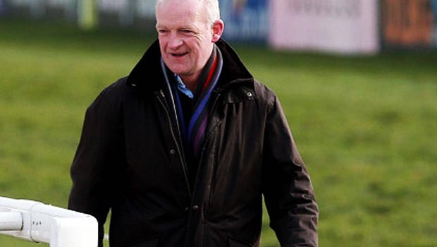 Willie Mullins ahead of Grand National