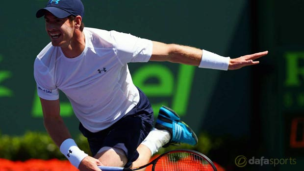 Andy Murray 500 career victories Miami Open quarter finals