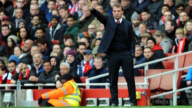 Arsenal 4-1 Liverpool Brendan Rodgers