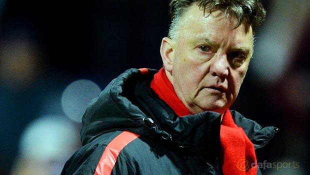 Man Utd Louis van Gaal