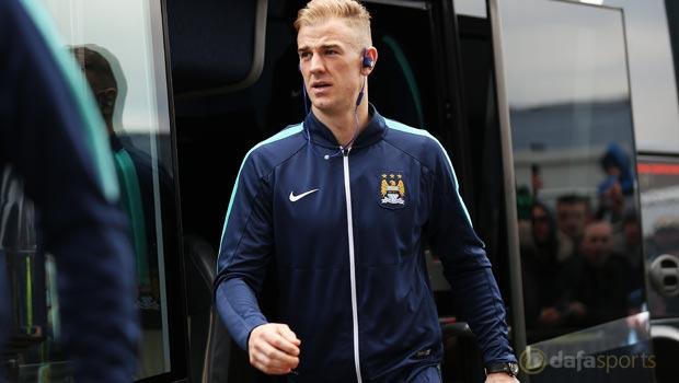 Manchester City keeper Joe Hart Premier League