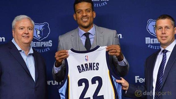 Matt Barnes Memphis Grizzlies