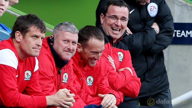Blackburn manager Gary Bowyer