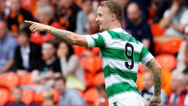 Celtic striker Leigh Griffiths
