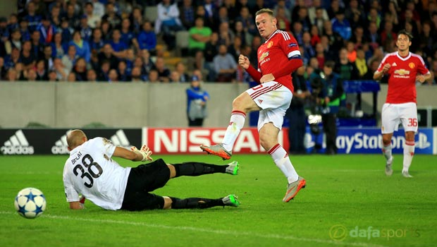 Club Brugge v Manchester United UEFA Champions League